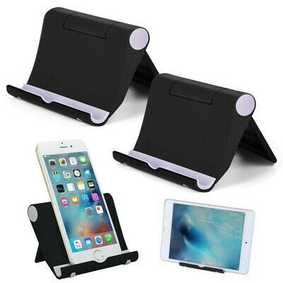 Cell Phone Stand Foldable Desk Holder Mount Dock Cradle for Samsung iPhone ipad