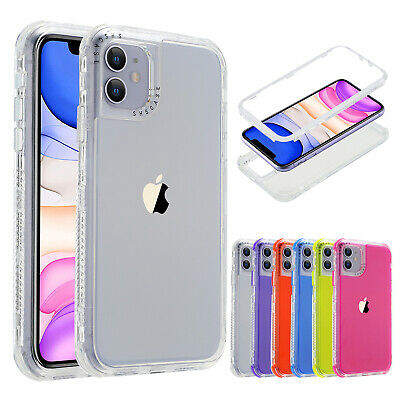 For iPhone 12 Pro Max 12mini 11 8 7 6s SE2nd Shockproof Hybrid Bumper Case Cover