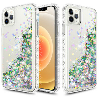 For iPhone 1111 Pro Max12 Mini12 Pro Max Shockporof Bling Girly Women Case