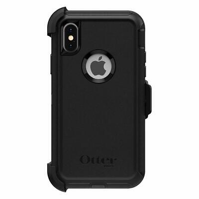 OtterBox DEFENDER SERIES Case - Holster for iPhone X  iPhone XS - Black