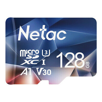 Netac Micro SD Card 128GB - Adapter 100MBS Memory Card TF Card for PhoneCamera