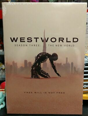 Westworld Season 3 3-Discs SetDVD New - Sealed Free Shipping US Seller
