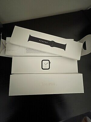 2 Empty Box Apple Watch Series 4 44mm Space Grey All Inside Packaging BOX ONLY