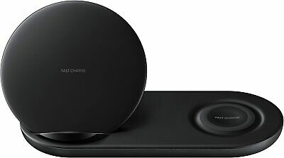Samsung Wireless Duo Charger Fast Charge Stand Pad - EP-N6100TBEGUS