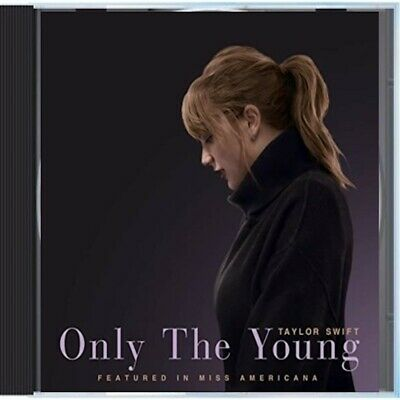 ULTRA RARE TAYLOR SWIFT ONLY THE YOUNG CD PROMO FACTORY SEALED 2020