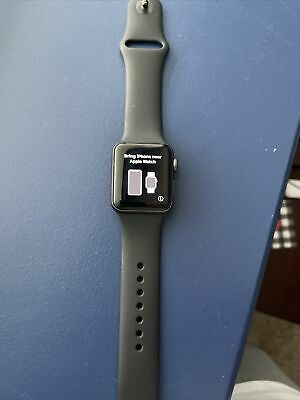 apple watch series 3- Black Band- No Charger-