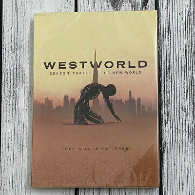 Westworld Season 3 3-Discs Set DVD New - Sealed Fast Shipping US Seller