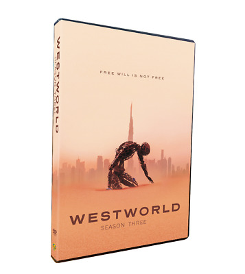 Westworld Season 3 DVD3-Disc Set Brand New Sealed Fast Shipping!
