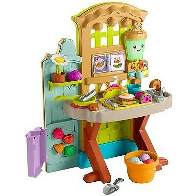 Fisher-Price Laugh - Learn Grow-the-Fun Garden to Kitchen