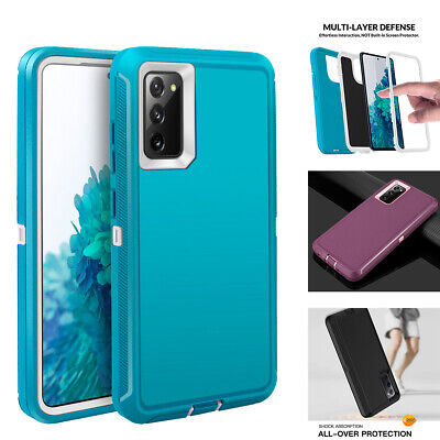 For Samsung Galaxy S20 FE 5G Case Hybrid Rubber Heavy Duty Shockproof Hard Cover
