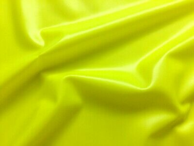 Latex Rubber 0-33mm Roll End 196x92 cm Vibrant Yellow