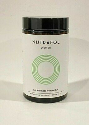 NUTRAFOL NutraWoman Supplement - 120 Capsules NEW EXP 0223 RETURNS ACCEPTED
