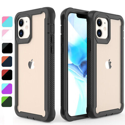 For iPhone 12 Pro Max 5G11 Pro MaxXR Case Shockproof Hybrid Bumper Clear Cover