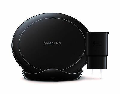 Samsung Wireless Charger Stand with Fan Cooling EP-N5105TBEGGB - Black