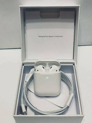 Apple AirPods 2nd Generation Refurbished Earbuds with Wireless Charging Case