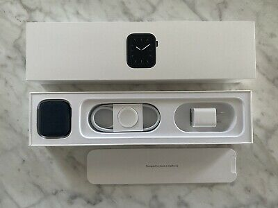 Apple Watch Box Series 5 Space Gray 44mm Original Packaging w Accessories
