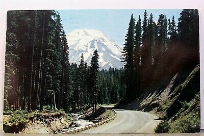 Washington WA Mt St Helens Spirit Lake Highway Postcard Old Vintage Card View PC