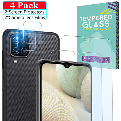 Tempered Glass Screen - Lens Protector For Samsung Galaxy A12 A21S A51 A32 A52