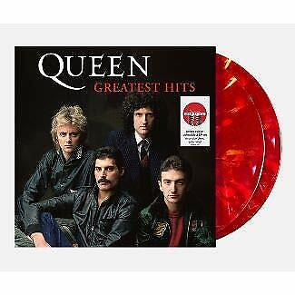 Queen - Greatest Hits Ltd- Edition Ruby Blend Colored 2x Vinyl LP