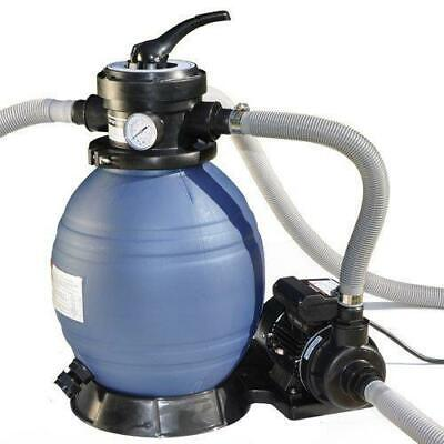 Swimline Sand Filter Above Ground Pool System with Hi-Flo Single Speed Pump