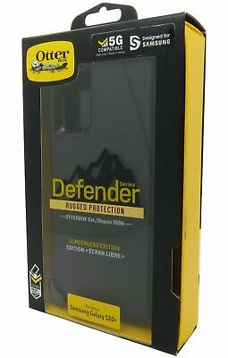 OtterBox Defender Series Case and Holster for Samsung Galaxy S20- Plus - Black
