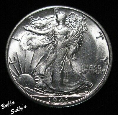 1943 S Walking Liberty Half Dollar <> UNCIRCULATED