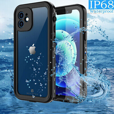 Waterproof Case Cover For Apple iPhone 12 Pro Max Shockproof W Screen Protector