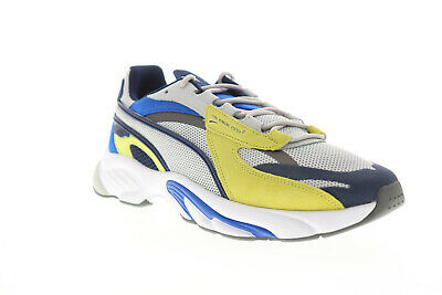 Puma RS Connect Lazer 37515204 Mens Gray Mesh Lifestyle Sneakers Shoes