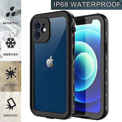 For Apple iPhone 1212 Pro Case Cover Shockproof Waterproof w Screen Protector