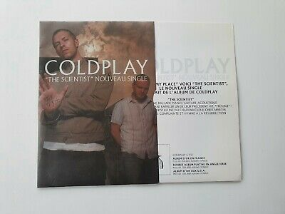 COLDPLAY CD PROMO 1 TITRE DANS PACKAGING SPECIAL THE SCIENTIST
