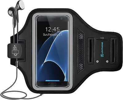 LOVPHONE Galaxy S7 Edge Armband Easy Fitting Sport Running Exercise Gym Sport-