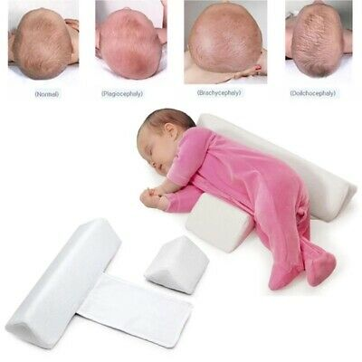 Infant Baby Side Sleep Pillow Support Wedge Newborn Anti-roll Cushion Adjustable