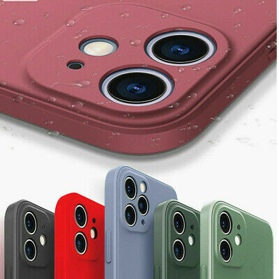 Liquid Shockproof Case Camera Lens Cover For iPhone 12 11 Pro XS Max XR X 8 7 SE
