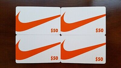 Nike Gift Cards 200