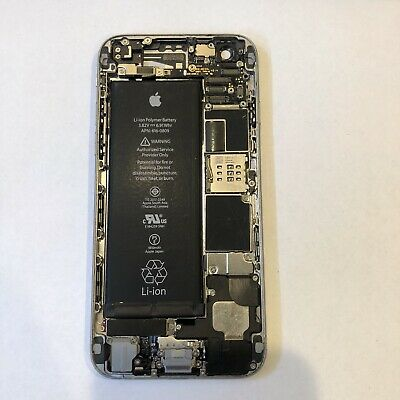 Apple iPhone 6 space gray Back Housing