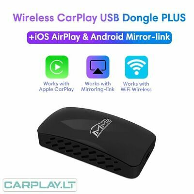Wired 2 Wireless Apple CarPlay MMB USB C Dongle - AirPlay Cast Youtube in Motion