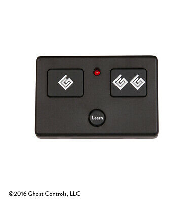 NEW GHOST CONTROLS AXS1 3 BUTTON TRANSMITTER REMOTE CONTROL FOR GATE OPENERS