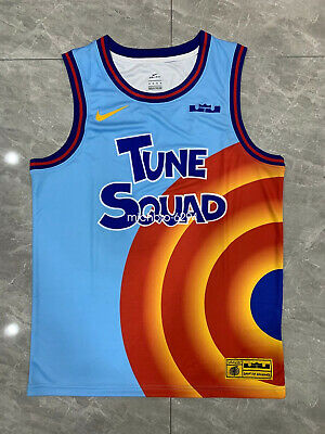 2021 LeBron James Space Jam Tune Squad Jersey NBA Basketball ALL-STAR Size M