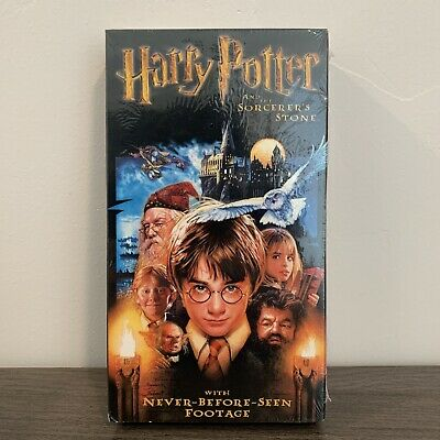 Harry Potter and the Sorcerers Stone  New VHS Movie  Vintage Sealed Video