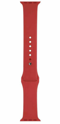 Genuine Apple Watch Band Sport Red 38mm - MLD82ZMA