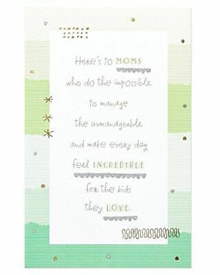American Greetings Mothers Day Card for Her Impossible