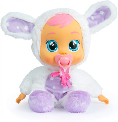 Cry Babies Goodnight Coney - Sleepy Time Baby Doll with LED Lights and White