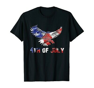 Fourth of July Independence Day Holiday 4th July T-Shirt Funny Eagle Gift Shirt