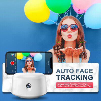 Smart Shooting Selfie Stick 360° Rotation Auto Face Tracking for Phone Vlog Live