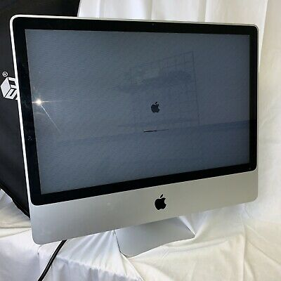 Apple iMac 24 A1225 2-8GHz 2GB RAM 320GB Turns On To Loading Bar That Stays On