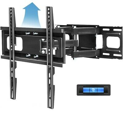 Full Motion TV Mount with Height Setting FOZIMOA TV Wall Mount for Most 32-65-