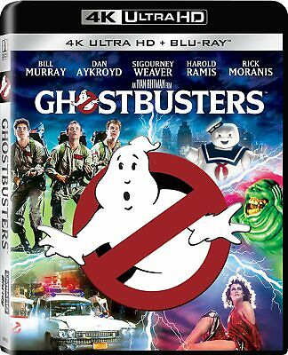 New Ghostbusters 1984 4KBlu-ray