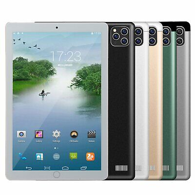 NEW 10-1 WiFi Tablet Android8-1 Pad 810G-512GB 10 Core Tablet GPS Dual Camera