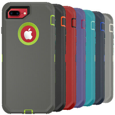 For iPhone 6 7 8 Plus 6s X XR XS Max SE Shockproof Case Heavy Duty Rugged Cover