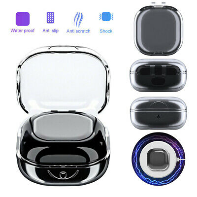 Shockproof Silicone Cover For Galaxy Buds Live Pro Clear Protective Earbud Case